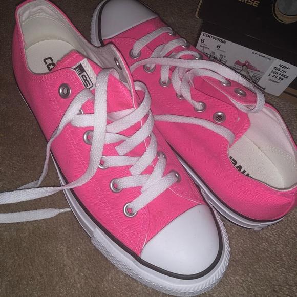 a99923ec9286 Brand new hot pink converse